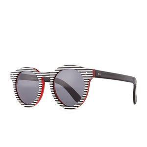 Illesteva Leonard II Striped Sunglasses